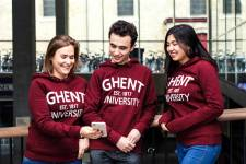 UGent-sweater Vintage bordeaux